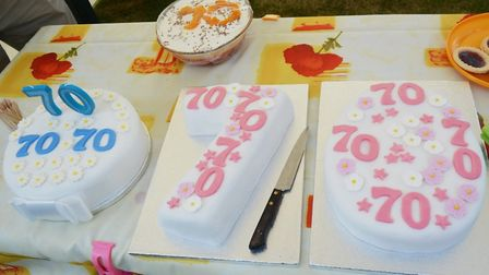A tea party was held in Ely to celebrate 70 years of residents living in Mayfield Close. Picture: MI