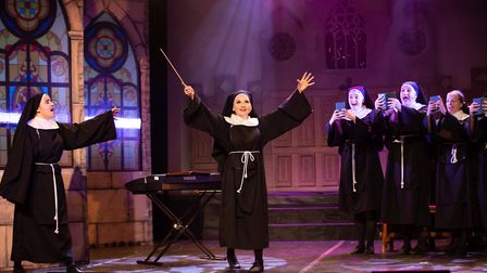 More than 100 KD Productions performers aged six to 18 brought the feel-good musical Sister Act to l