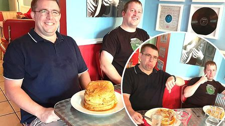 Three competitors took on the Shooters 10 pancake challenge and all failed this weekend at the March