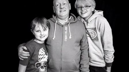 Inspirational Soham teen Jake raises more than £3,000 for charity after the loss of his stepdad Paul