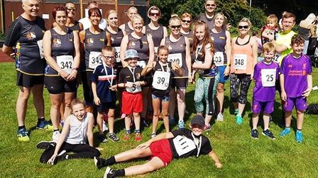 Members from Three Counties Running Club competed in the Peterborough 5k series and the Whitemoor fi