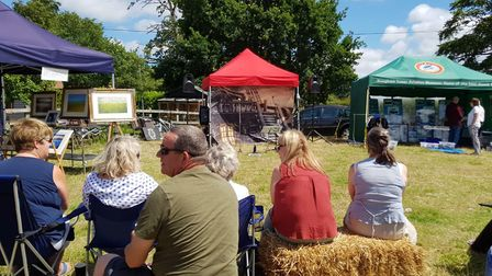 Crowds flock to annual sunshine-filled Sutton Gault Day. Picture: STUART GREEN