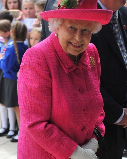 The Queen visits the new Papworth Hospital in Cambridge on Tuesday, July 9. Picture: Harry Rutter /