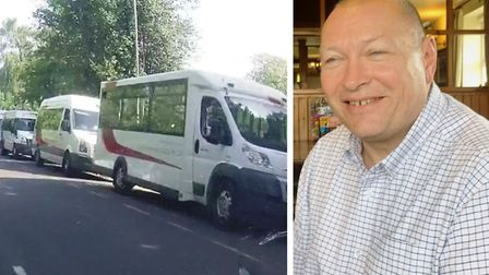 FACT chairman Gary Christy who outlined massive changes to the community transport provider. One cha