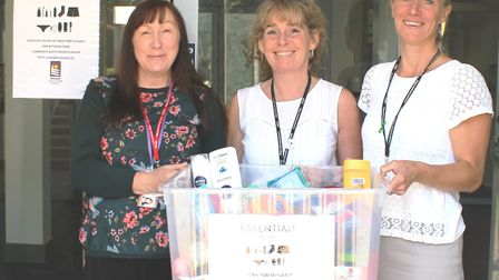 Essentials by Sue is launched at Cromwell Community College in Chatteris, one of the colleges involv