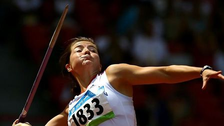 Olympic champ Goldie Sayers 'thrilled' to receive long-awaited 2008 bronze medal. Picture: BRITISH A
