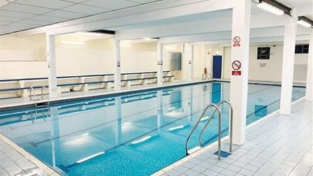 The Empress Swimming Pool in Chatteris was back up for auction today in London, with a reduced guide