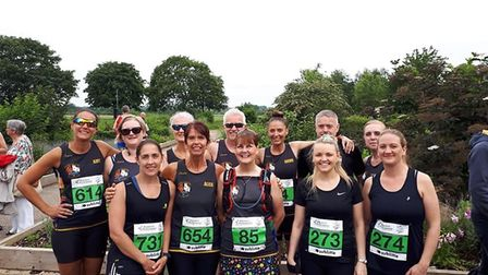 It's a family affair for Three Counties Running Club members: Sublime 10k. Picture: TCRC.
