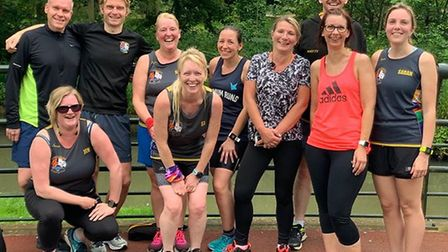 It's a family affair for Three Counties Running Club members: King's Lynn parkrun. Picture: TCRC.