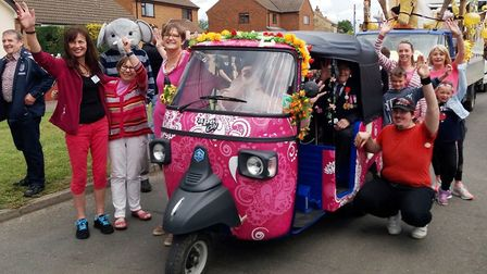 A stylish tuk tuk that goes by the name of Nellie will now take to the streets of Soham after a fund