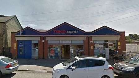 Tesco Express in Cambridge Road was burgled on Monday (June 24). Picture: GOOGLE