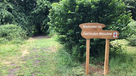 The event will take place at Castleden Meadow, a new public space for Dunmow. Picture: GREAT DUNMOW