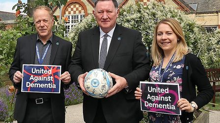 Peterborough United have chosen the Alzheimer's Society as their chosen charity for the 2019-20 seas