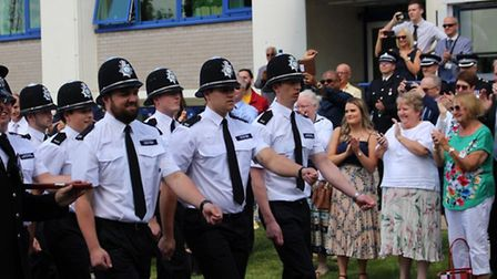 28 new police recruits welcomed with passing out parade.