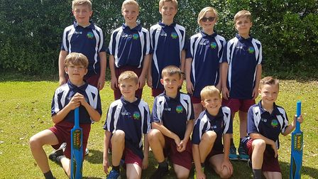 Cricketers at Great Dunmow Primary will play in a county tournament next month. Picture: CONTRIBUTED