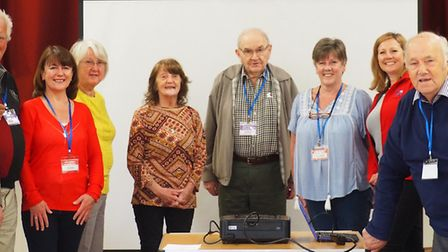 The newly-formed Little Thetford Friendship Club received a valuable donation from Annington recentl