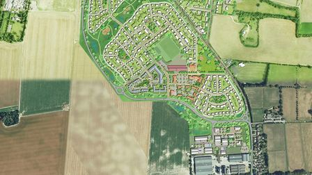 Planners jtp produced these visuals for the Kennett application. They propose four new neighbourhood