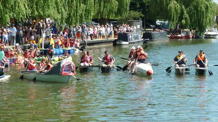 Here's some of what to expect on the river as part of this year's Ely Aquafest. Picture; AQAUFEST