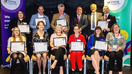 Dedicated carers were recognised for the vital role they play in their communities at a special awar