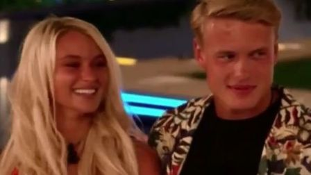 George Rains is now coupled up with Lucie Donlan. Picture: ITV2