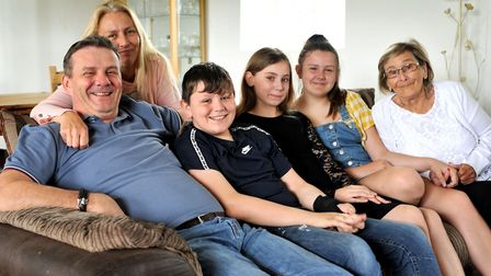 Father-of-four Greg Martin of Chatteris (left) – who is dyslexic – has been named among the top thre