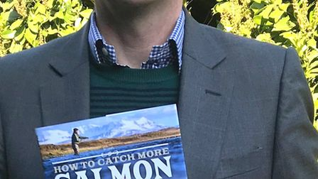Ely author and fisherman Henry Giles' new book, How To Catch More Salmon, is now on sale at Topping