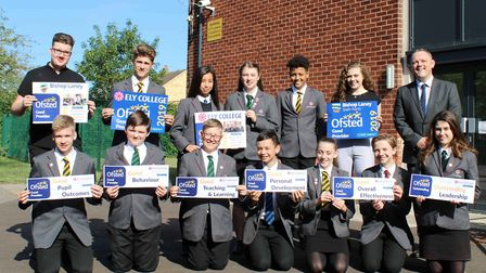 Ely College praised for behaviour, teaching and achievement as Ofsted say they are good. Picture: MI
