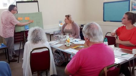 Ely Arts Festival Writers' Day 2019 in Witchford. Picture: ROSEMARY WESTWELL