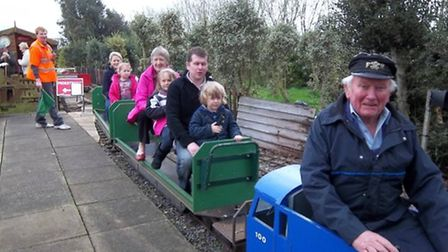 Charity open day at Dunham's Wood Light Railway in aid of Macmillan Cancer Support. Picture: FACEBOO