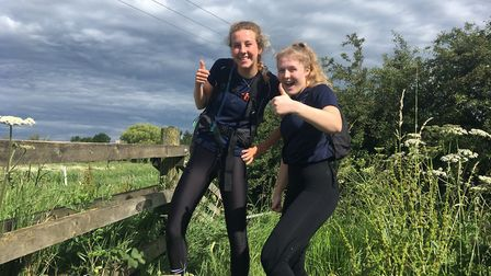 King's Ely students set a new record time in this year's Martin Doyle Endurance Challenge. Picture: