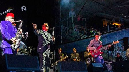 Madness brought all the hits to a packed Newmarket Racecourse for the first live music event in The