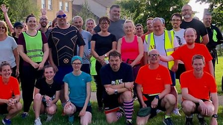 The Ely Runners' beginners' courses are going from strength to strength so far. Picture: ELY RUNNERS