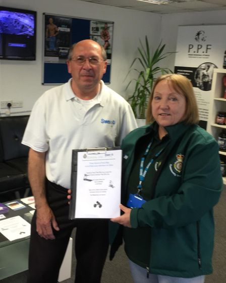 Soham first responder coordinator Jacqueline Whipp is on a mission to get as many defibrillators ins