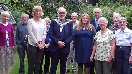 Christine Gascoigne took over as the new president of the Ely Hereward Rotary Club at an informal bu