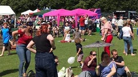 Crowds flocked to the Wilburton Beer Festival last weekend to enjoy the range of alcohol, entertainm