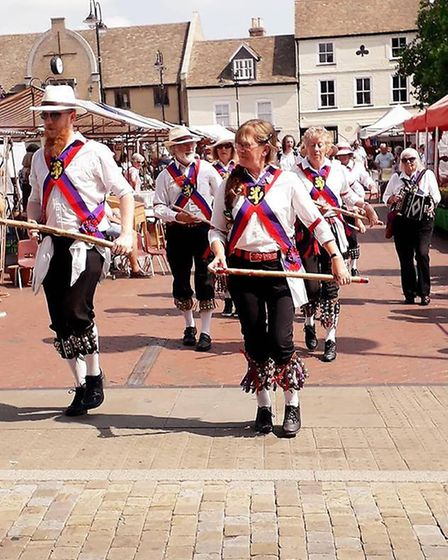 Procession of Morris and molly dancers through Ely has traditionally heralded the start of the Ely F