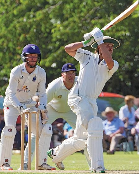 Ben Howgego on his way to a fine century, Picture: PAT RINGHAM