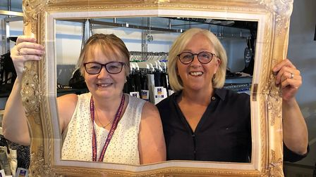 Karen Galley and Jackie Fuller from EACH's Soham shop. Picture: MICHAEL JARVIS