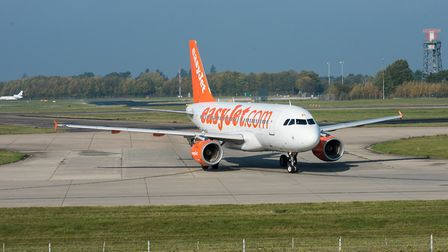 EasyJet operates out of Stansted Airport. Picture: SAFFRON PHOTO