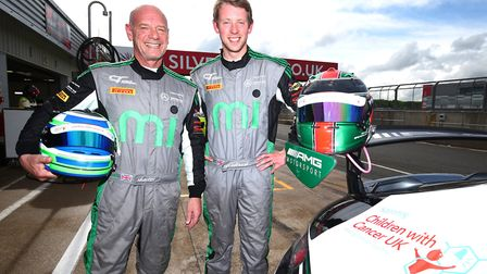 Ely's Mark Murfitt of Fox Motorsport will attempt to raise £1 million for Children with Cancer UK th