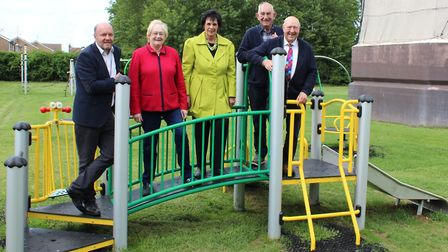 One of Fenland's oldest play parks has been given a new lease of life following a £57,000 refurbishm