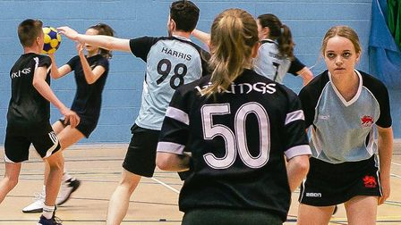 Action from Vikings 2 vs University 1's play-off final thriller. Picture: JERRAM DAWES
