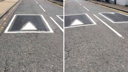 Speed bumps have been installed on Fore Hill in Ely in a bid to slow down drivers on the notorious s