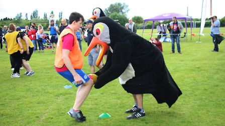 The Field of Dreams - the home of Whittlesey Junior Football Club - was the venue for Its A Knockout