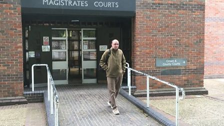 Jamie Shand from Sutton who could be jailed for making false reports to police. Picture: Simon Parki