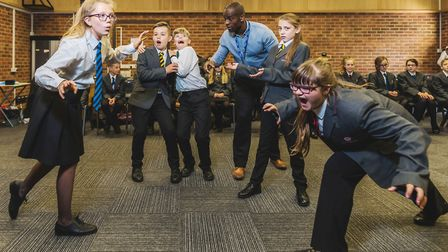 More than 360 pupils from 11 schools including Ely College will for be singing, dancing and acting a