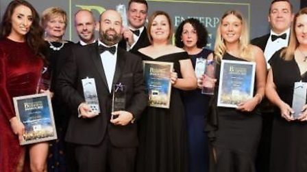 The winners of last year's Fenland Enterprise Business Awards.