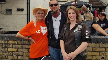 The 363 MCC Motorcycle Club raised £2,700 after their successful Crowning Around event in May at The