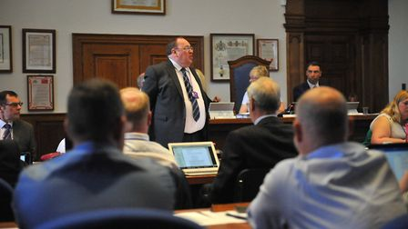 Cllr Chris Boden, the new leader of Fenland District Council, whose council tax motion could pave th