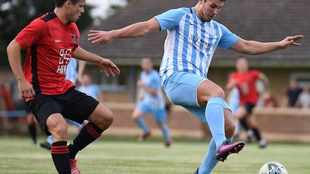 Recent Lilies signing, Alex Knowles, in action versus Histon. Picture: ADRIAN MORTON